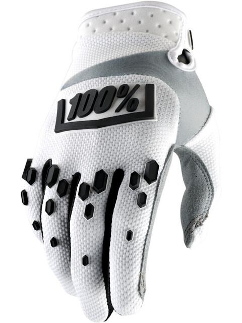 100% Airmatic Gloves white/black